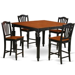 Ashworth 5 Piece Pub Table Set