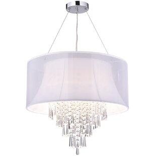 House of Hampton Attalla Crystal 4-Light ..