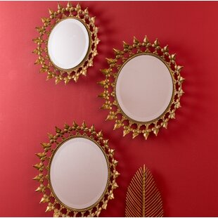 3 Piece Wall Mirror Set Wayfair