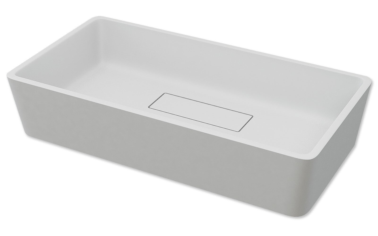 Latitude Run Walbrook Square Vessel Bathroom Sink With Faucet And Overflow Wayfair