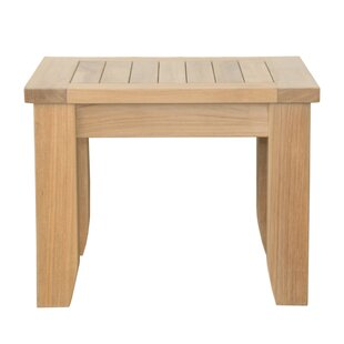 Luxe Teak Side Table