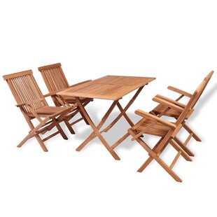 Bauder 4 Seater Dining Set By Sol 72 Outdoor