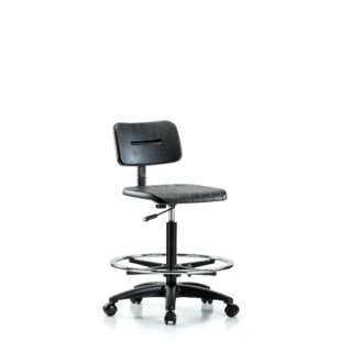 Elissa Drafting Chair by Symple Stuff Savings