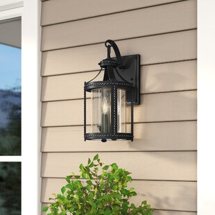 Laurel Foundry Modern Farmhouse Halcott 3-Light Outdoor Wall Lantern