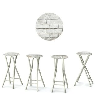 Cinderblock 30'' Patio Bar Stool (Set of 4)