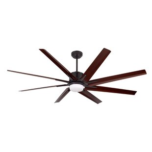 Compare prices 72 Shayna 8 Blade LED Ceiling Fan By Brayden Studio
