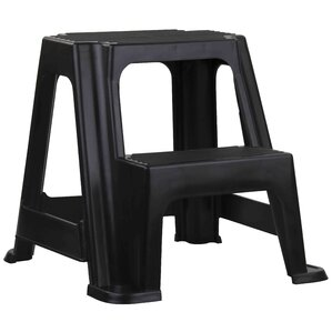 2-Step Plastic Step Stool  sc 1 st  Wayfair & Ladders u0026 Step Stools Youu0027ll Love | Wayfair islam-shia.org