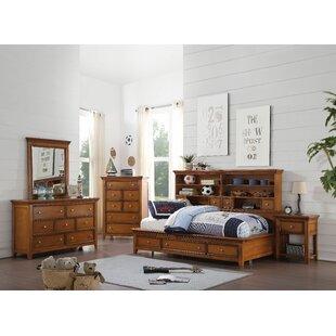 Congdon 7 Drawer Dresser with Mirror by Harriet Bee