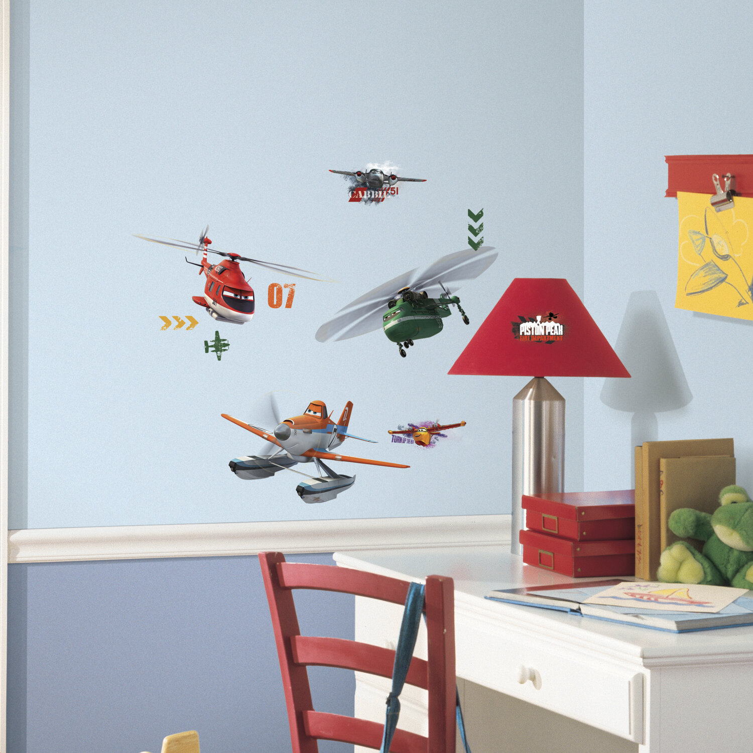 Planes Fire And Rescue Wall Decal