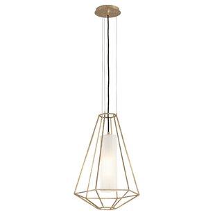 Westerberg 1-Light Geometric Pendant by Brayden Studio