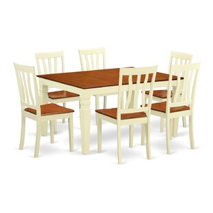 Arends 7 Piece Dining Set DarHome Co