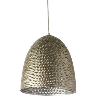 Francille 1-Light LED Bell Pendant by Bloomsbury Market