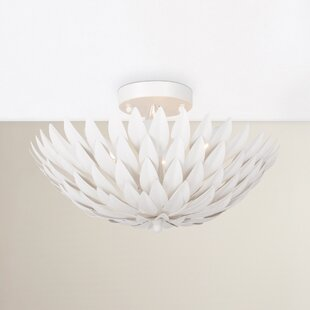Willa Arlo Interiors Rochelle 4-Light Semi Flush Mount