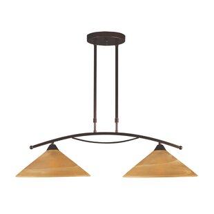 Fleur De Lis Living Birdsong 2-Light Pool Table Lights Pendant