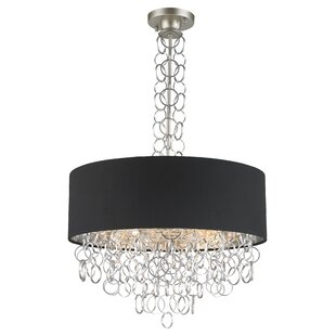 Everly Quinn Aryanna Linen 6-Light Pendant