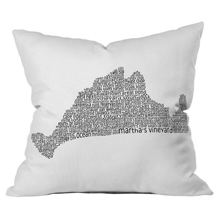 Deny Designs Restudio Designs Marthas Vineyard Outdoor Throw Pillow Wayfair