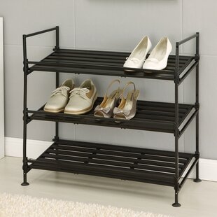 Rebrilliant 3-Tier Shoe Rack