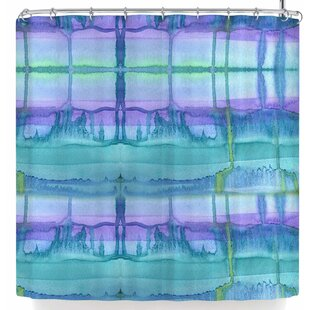 Catherine Holcombe Ocean Zone Single Shower Curtain