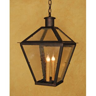 Laura Lee Designs Abbey 3-Light Outdoor Hanging Lantern