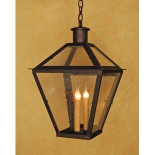 Laura Lee Designs Abbey 3-Light Outdoor Hanging Lantern