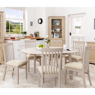 Chatham Extendable Dining Set With 6 Chairs By Breakwater Bay
