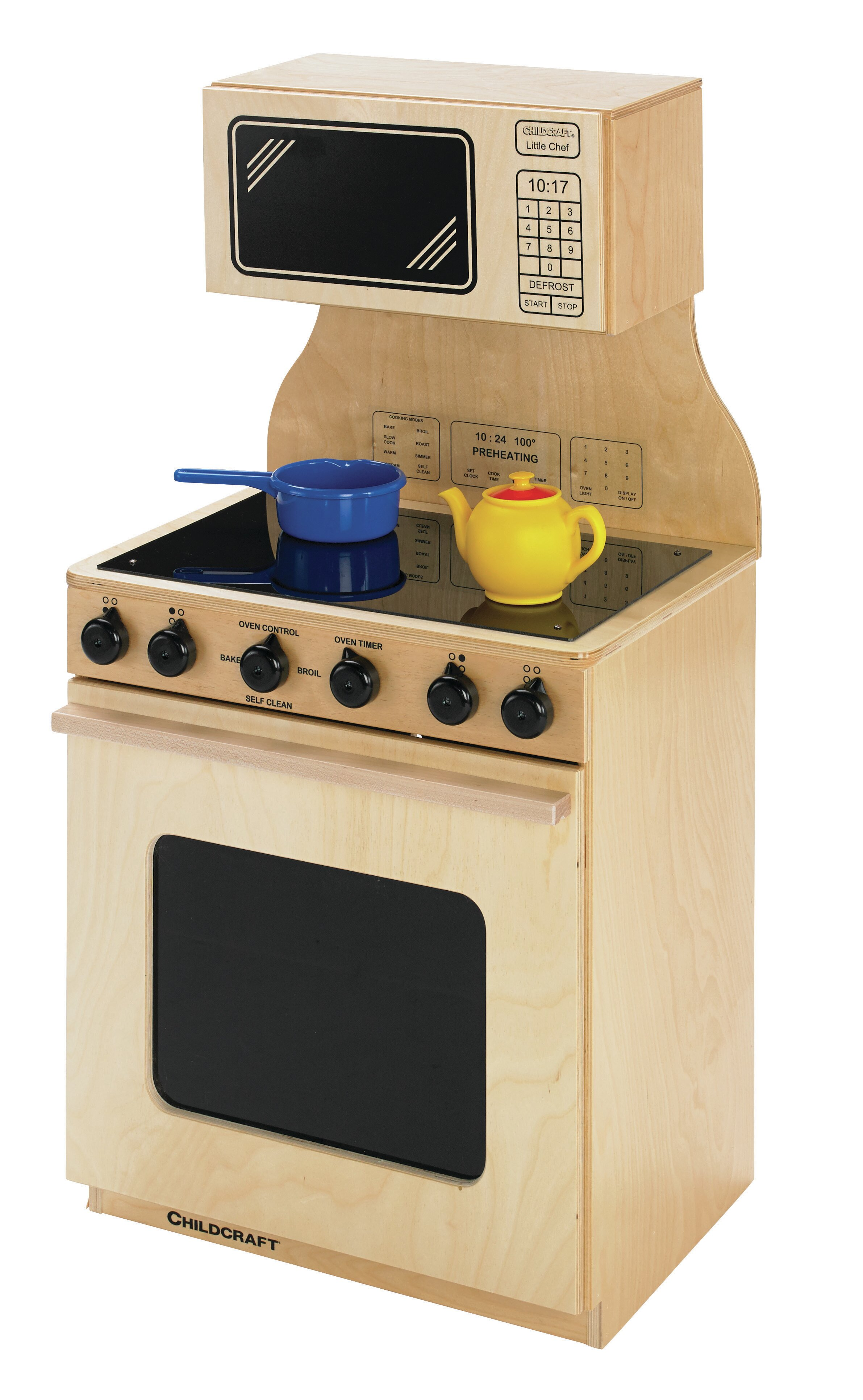 Childcraft Stove And Microwave Combo Kitchen Set Wayfair