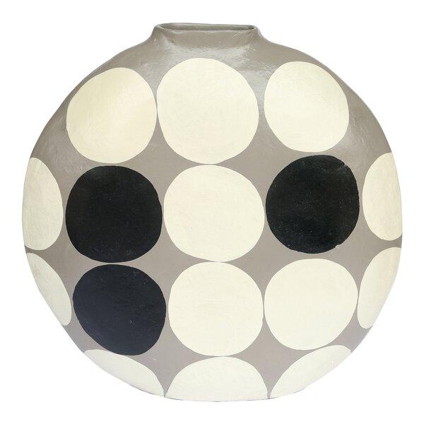 Gold Polka Dot Vase Wayfair