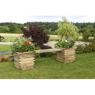 Prinsburg Wooden Planter Bench By Sol 72 Outdoor
