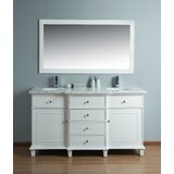 Astoria 60 Double Bathroom Vanity Set with Mirror by Birch Lane™