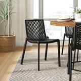 Audet Cross Back Side Chair (Set of 2) by Ebern Designs
