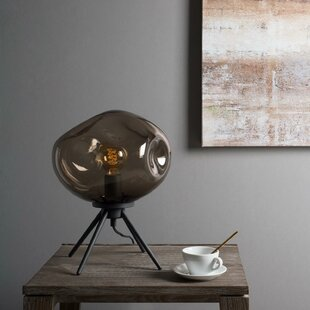 Handblown Glass Organic Uplight 80 Table Lamp