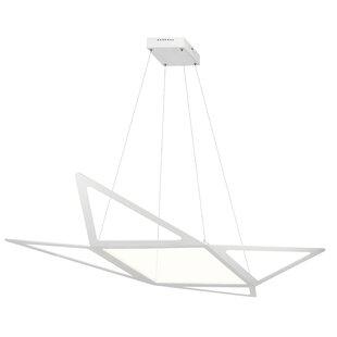 Orren Ellis Garrison 1-Light Pendant
