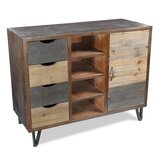 Otwell 1 Door Accent Cabinet by August Grove®