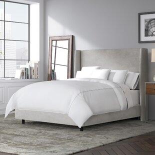 Goodrich Upholstered Panel Bed by Brayden Studio