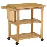 Calfee Kitchen Cart by Red Barrel Studio®