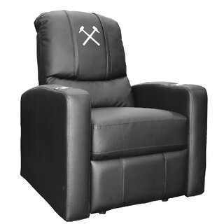 West Ham United Hammers Logo Stealth Manual Wall Hugger Recliner by Dreamseat SKU:ED466651 Check Price