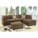 Leo 117 Reversible Sectional by Red Barrel Studio®