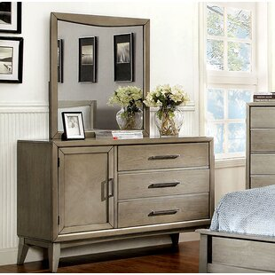 Brayden Studio Albarado 3 Drawer Combo Dress..