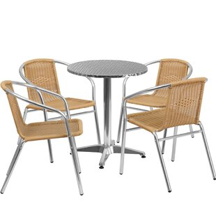 Red Barrel Studio Dashrath 5 Piece Dining Set
