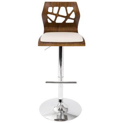 Awesome Wade Logan Mcdowell Swivel Adjustable Height Swivel Bar Cjindustries Chair Design For Home Cjindustriesco
