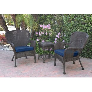 Damarion 3 Piece Conversation Set with Cushions