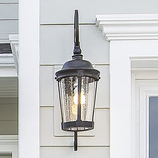Deals Nunnally Traditional 1-Light Outdoor Wall Lantern By Darby Home Co