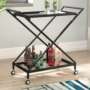 Affordable Burke Bar Cart By Ivy Bronx