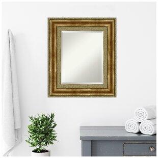 Vienna Traditional Beveled Wall Mirror by Amanti Art