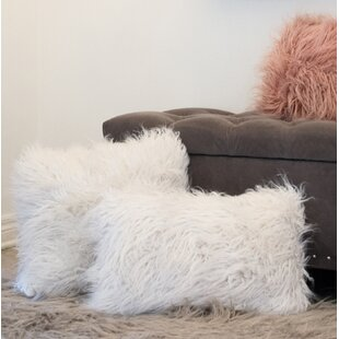 Frisco Faux Fur Throw Pillow
