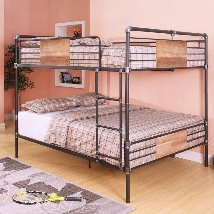 Brantley Queen Over Bunk Bed