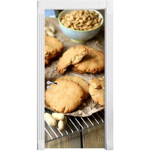 Cookies With Peanut Butter Door Sticker By East Urban Home