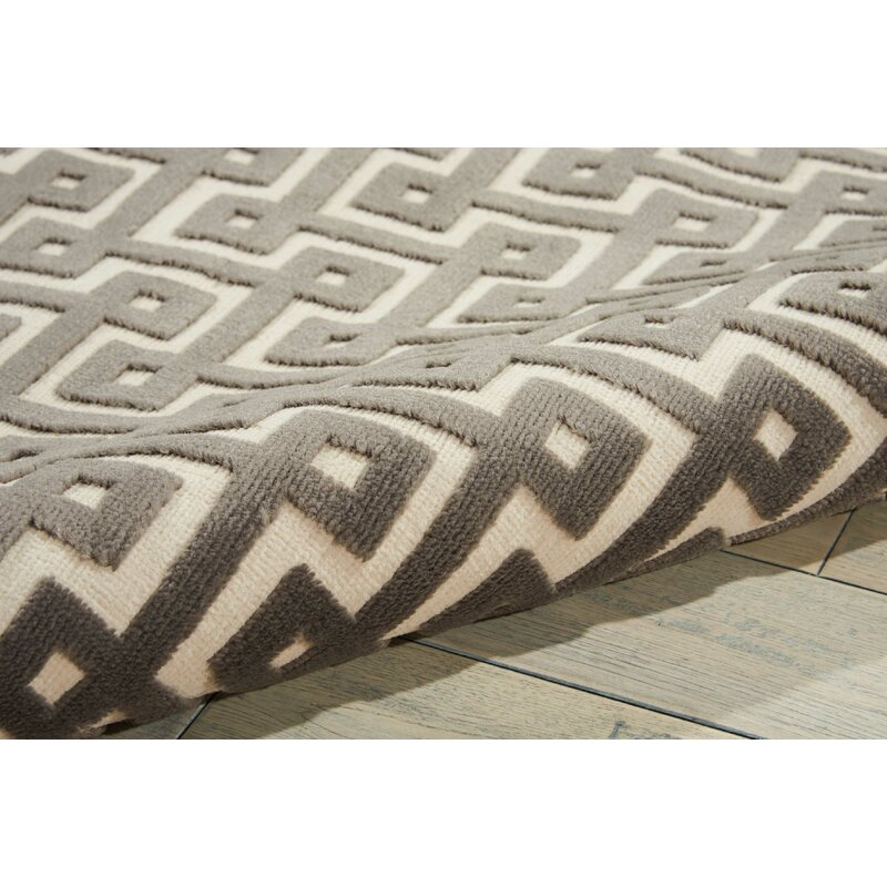 Willa Arlo Interiors Blondelle Geometric Black Area Rug Wayfair