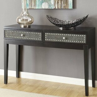 Review Nahlia Console Table By Bloomsbury Market
