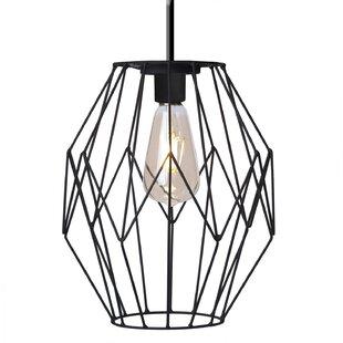 Paradise Garden Lighting LED 1-Light Geometric Pendant
